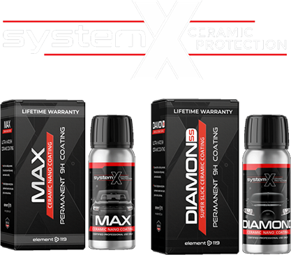 systemX ceramic protection